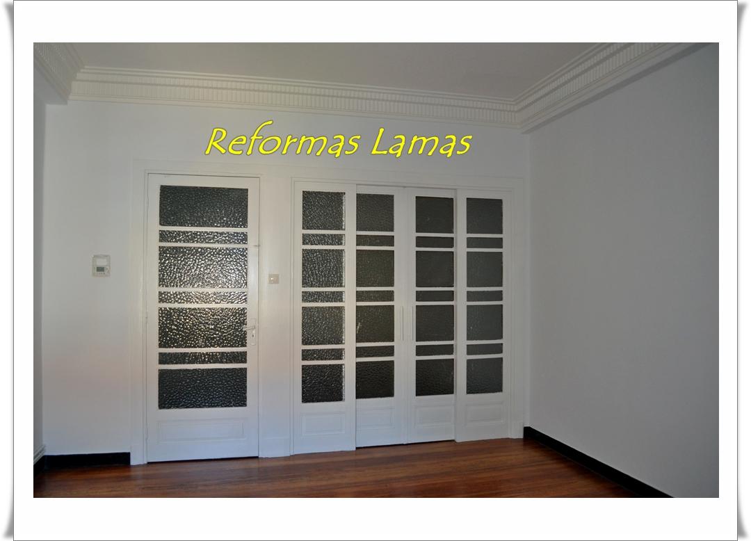 Puerta lacadas en Coruña, Reformas Lamas ofrece carpinteros Coruña.