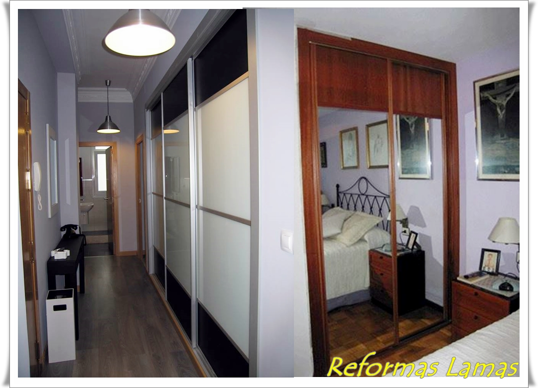 Reformas Lamas en Coruña somos expertos en la fabricación armarios y vestidores a medida, modernos y clásicos. Armarios corredera en Coruña a los mejores precios.